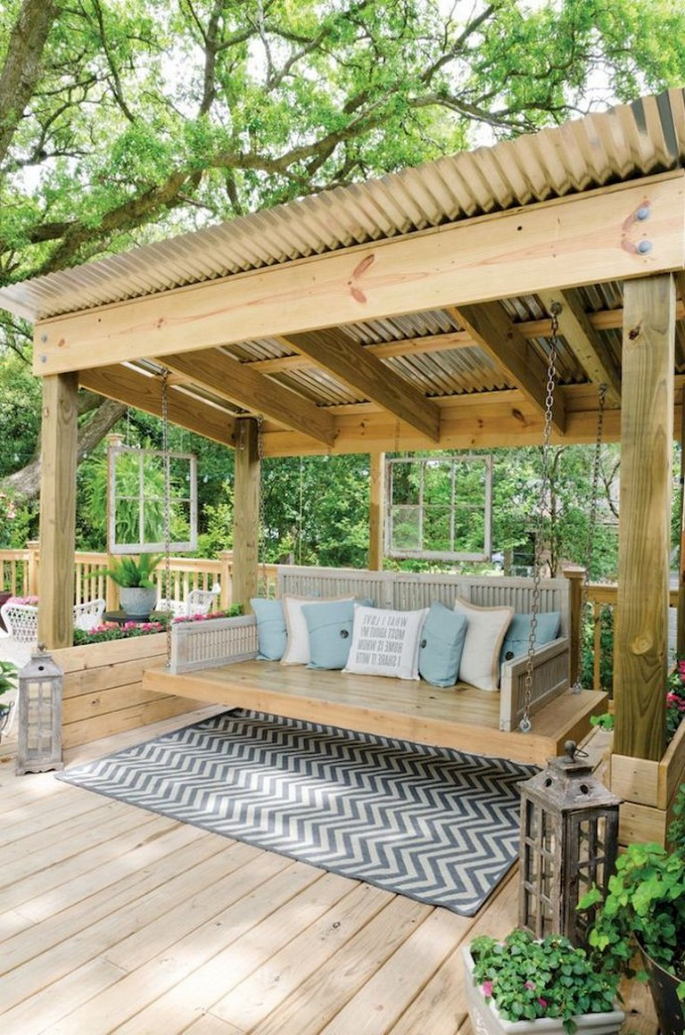 37+ Simple Creative DIY Backyard Ideas On a Budget on Outdoor Living Ideas On A Budget id=79126