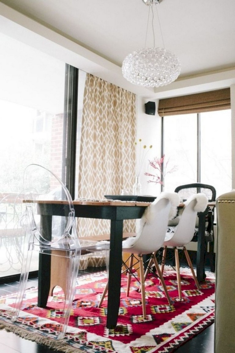 30 Clever And Lovely Bohemian Dining Room Decor Ideas