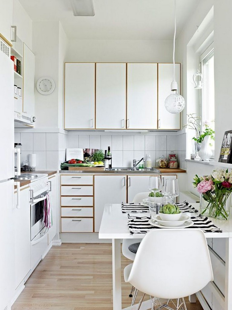 40+ Marvelous Small Apartment Kitchen Remodel Ideas   Page ...