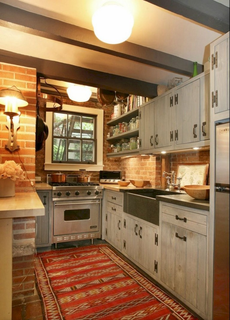 40+ Marvelous Small Apartment Kitchen Remodel Ideas