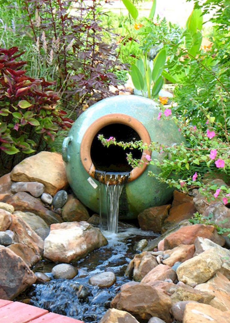 56+ Awesome and Creative DIY Inspirations Water Fountains ...