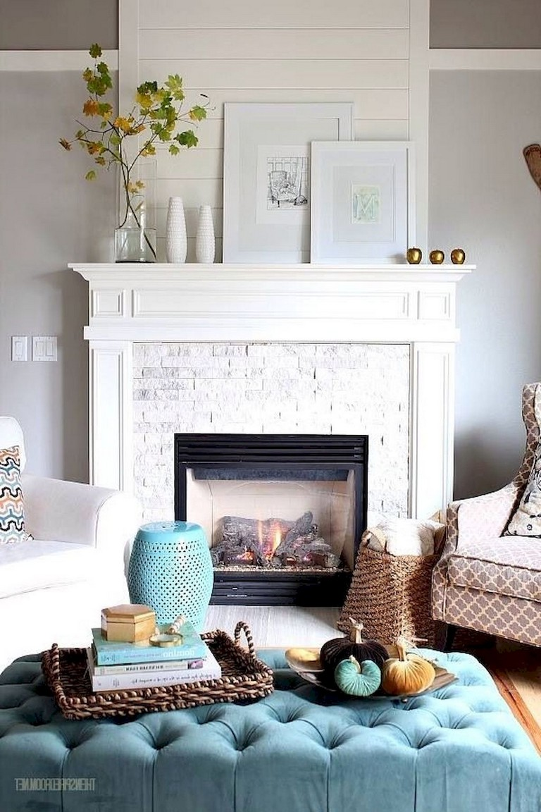 65 Awesome Diy Living Room Fireplace Ideas