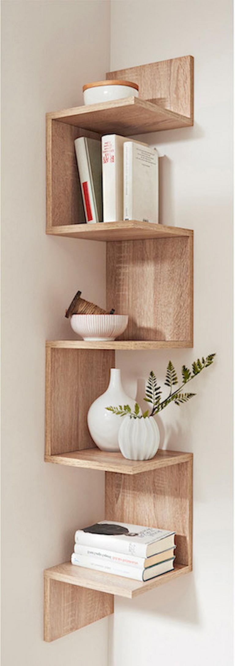 70 smart diy corner shelves ideas to decorating your