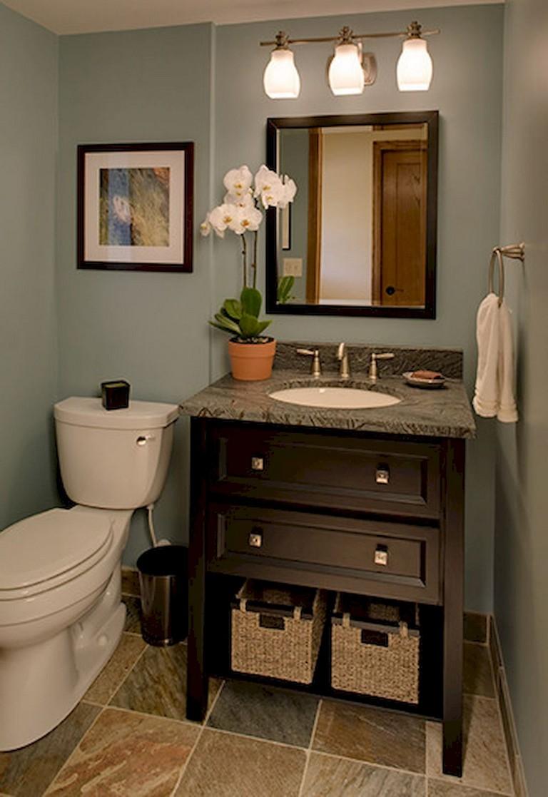 79 Beauty Small Powder Room Decorating Ideas