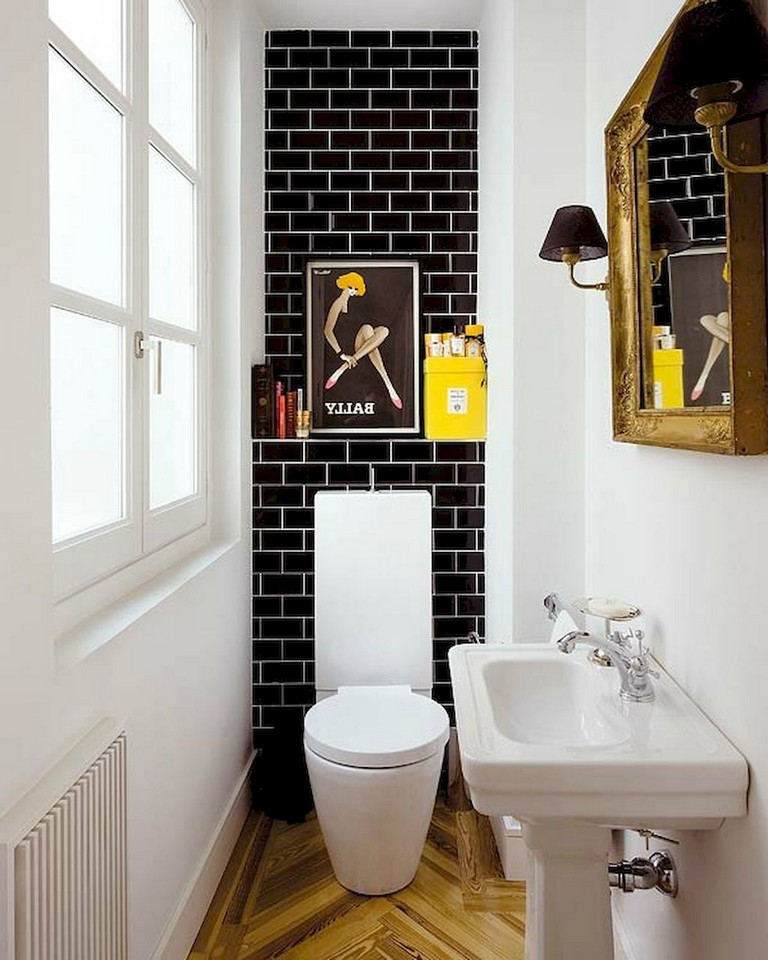 79 Beauty Small Powder Room Decorating Ideas Page 2 Of 71