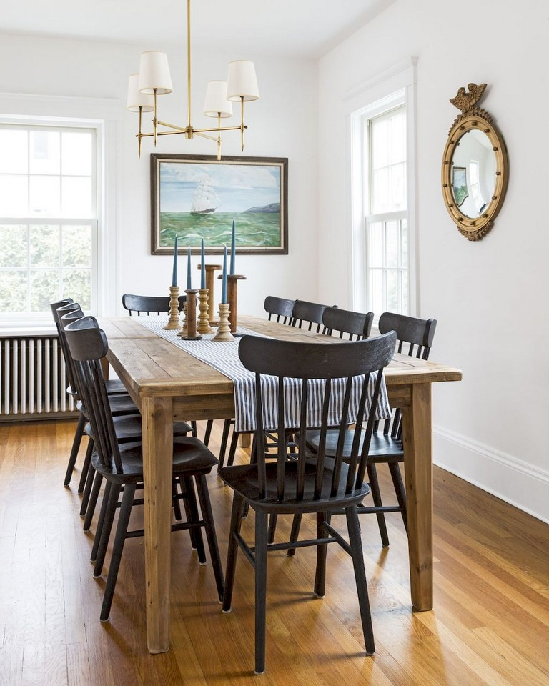 70 Modern Dining Room Ideas For 2019: 68+ Beautiful Modern Farmhouse Dining Room Design Ideas