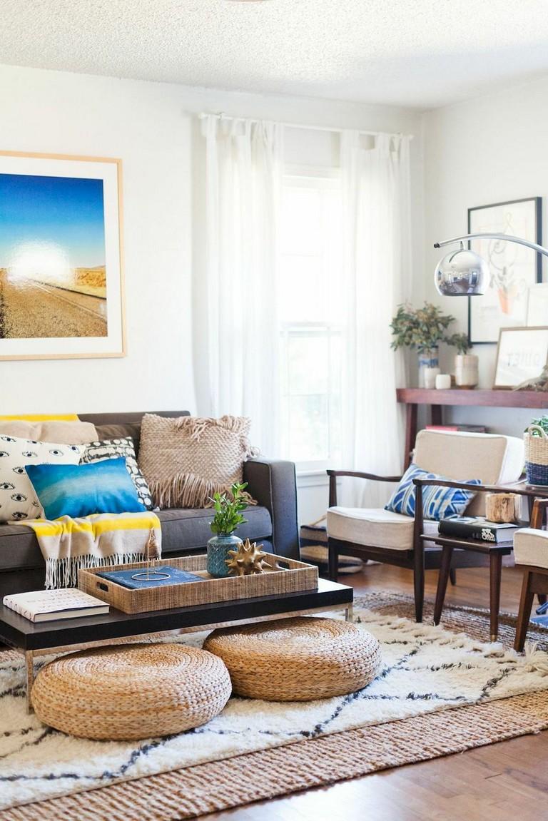 82 Comfy Bohemian Living Room Decor Ideas