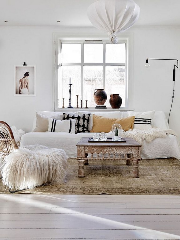 36 Smart Bohemian Farmhouse Decorating Ideas Living Room