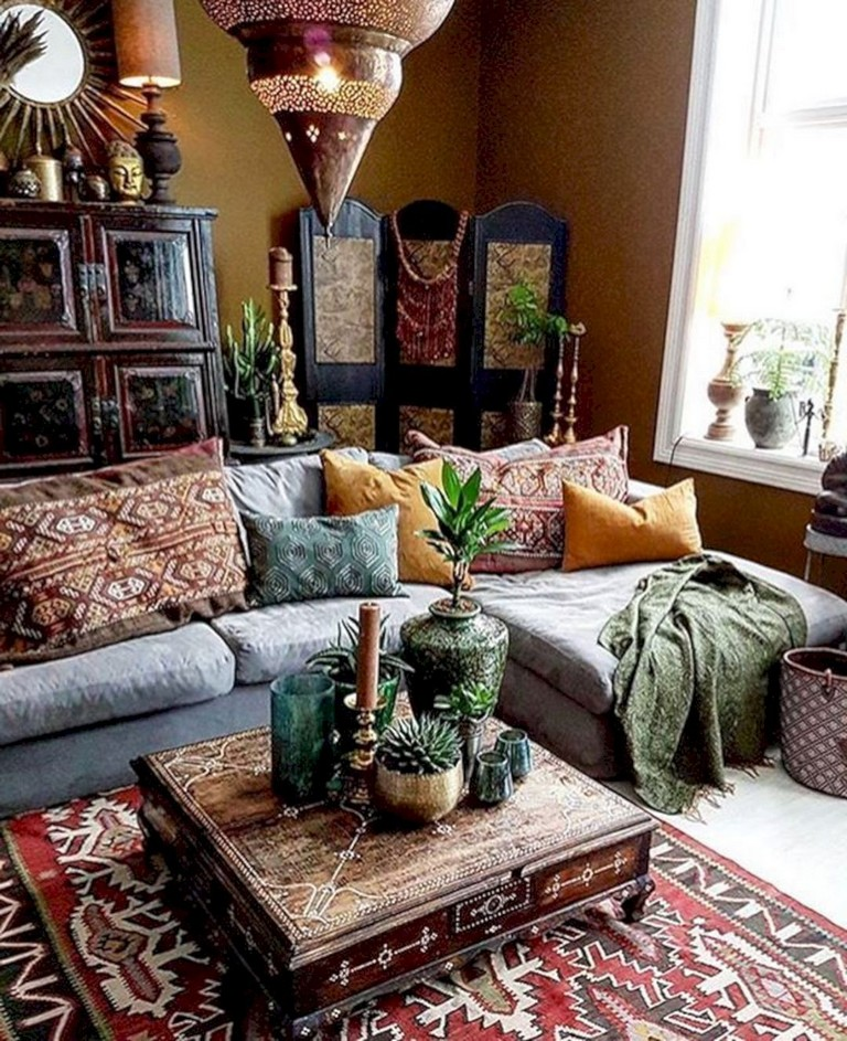 Living Room Decor Ideas: 36+ Smart Bohemian Farmhouse Decorating Ideas Living Room