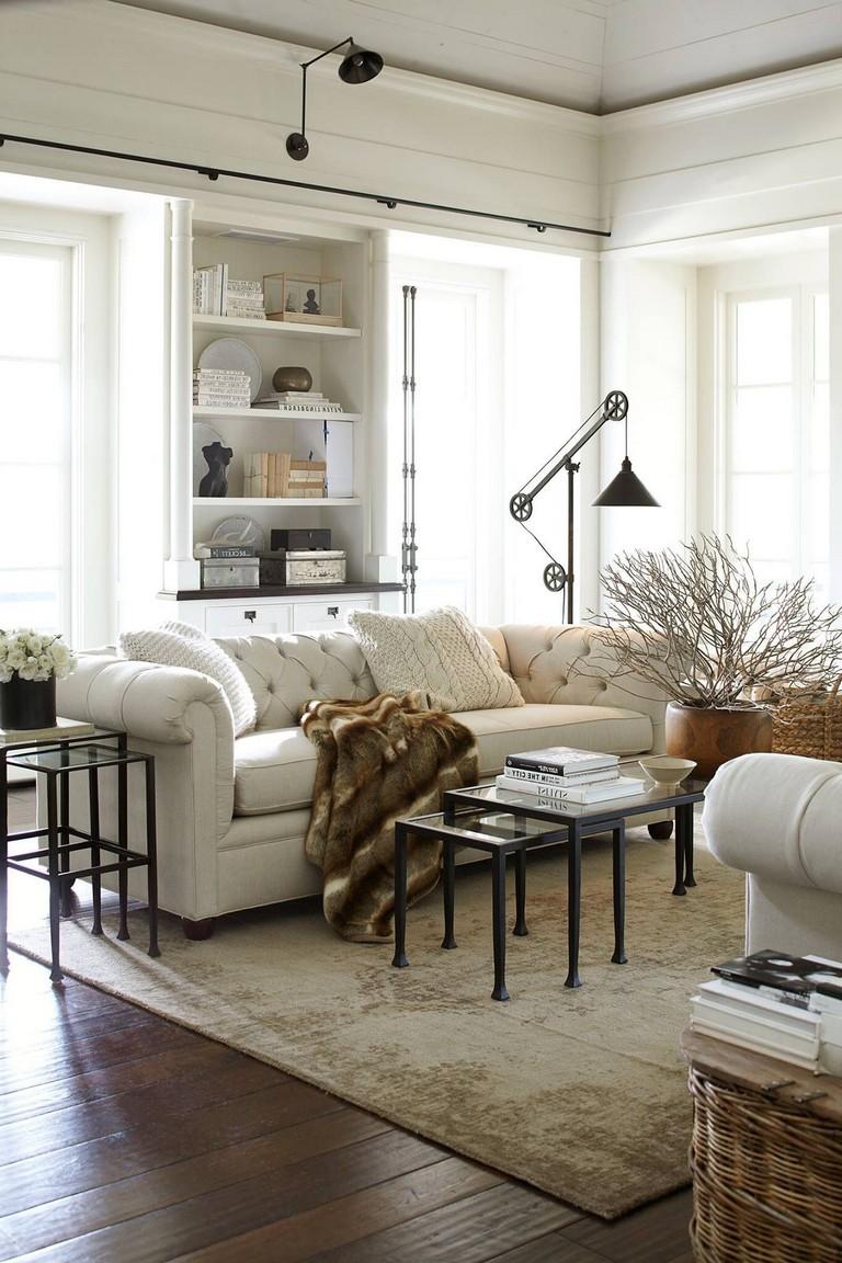 36+ Smart Bohemian Farmhouse Decorating Ideas Living Room ...