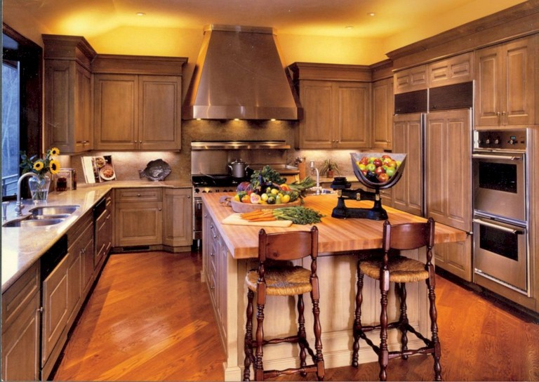 37+ Inspiring Inexpensive Kitchen Cabinet Makeovers - Page ...