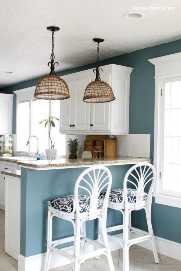 40 Awesome Coastal Kitchen Design Ideas