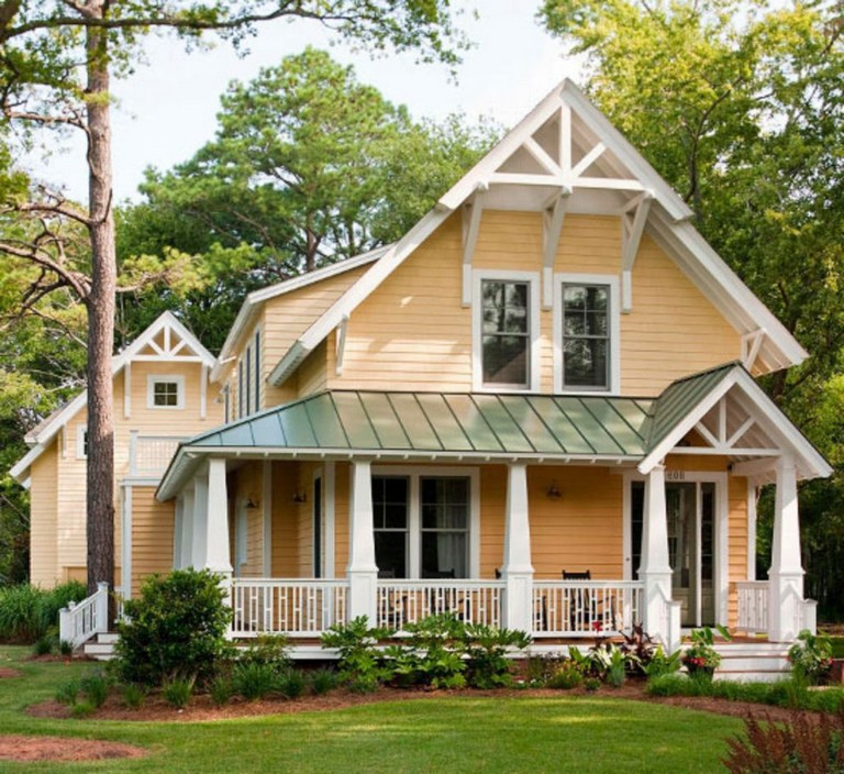 Exterior Home Colors 2019: 38+ Inspiring Exterior House Colors Brown Roof