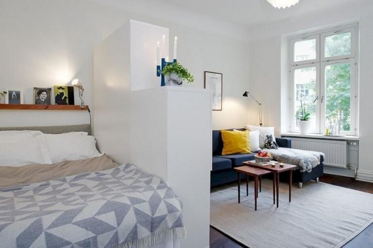 41+ Awesome Stylish Apartment Studio Decor Furniture Ideas