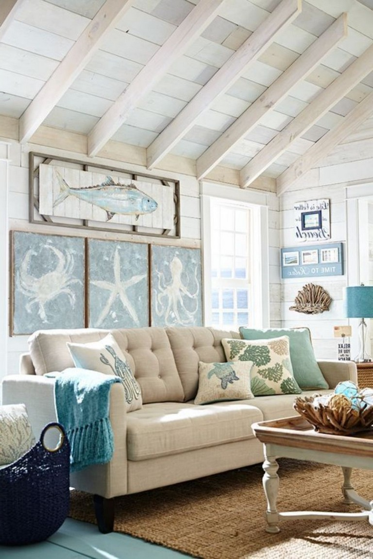 11+ Simple DIY Rustic Coastal Decor Will Beauty Home
