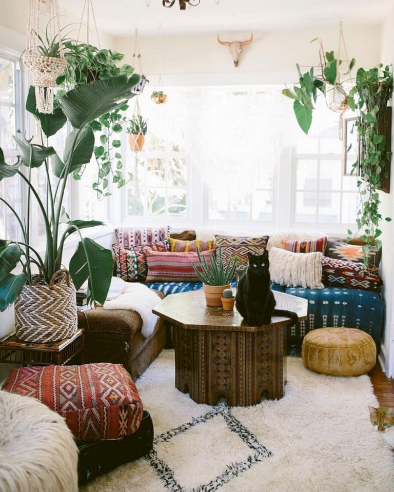 46 Cozy Living Room Ideas And Designs For 2019: 46+ Cozy Relaxing Moroccan Living Room Decoration Ideas