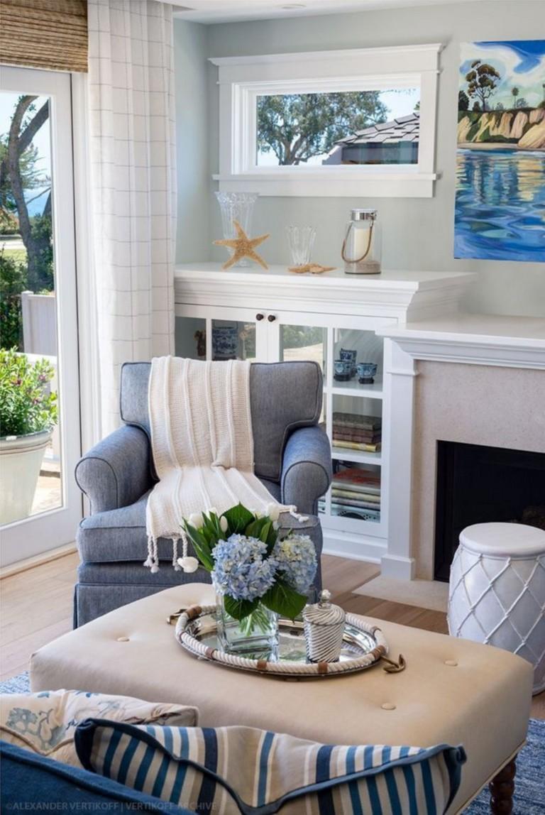 Coastal Living Room Design Ideas: 47+ BEAUTIFUL COASTAL LIVING ROOM DECOR IDEAS