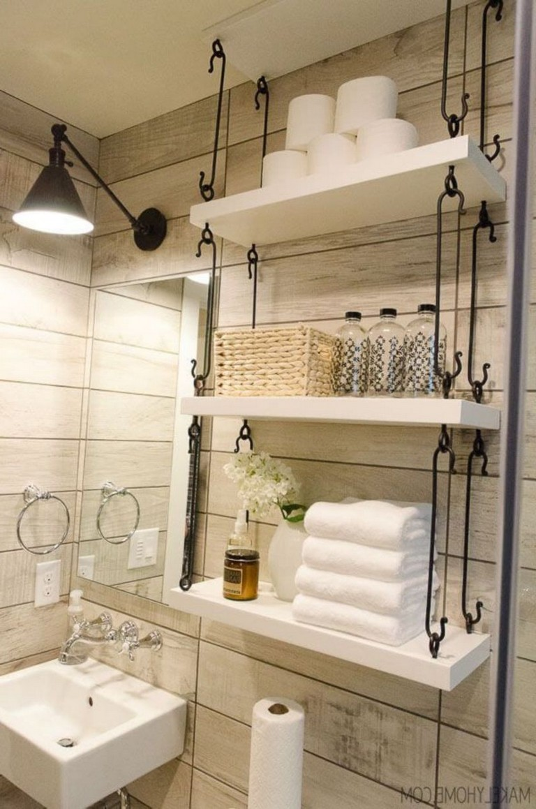 54 best farmhouse bathroom ideas for small space  page 6