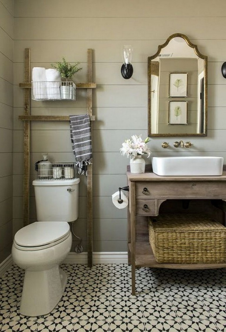 54+ BEST FARMHOUSE BATHROOM IDEAS FOR SMALL SPACE - Page ...